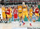 F grupa: Krievijai septītā, Maķedonijai sestā uzvara pēc kārtas