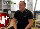 Video: LOV fizioterapeits Osovskis par sportistu sagatavošanu uzvarām