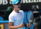 Melburna sagaida Federera un Tomika tikšanos