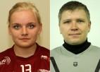 Sloģe un Urbāns - Sporta Punkts spēlētāji decembrī