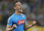 Sešu vārtu trilleris Dženovā: ''Napoli'' viesos uzvar ''Sampdoria''