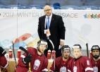 Latvijas hokejisti universiādē piekāpjas slovākiem un finišē sestajā vietā