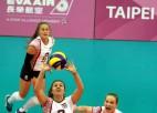 Latvijas volejbola studentes pārspēj Kolumbiju un nepaliks pēdējās (+video)