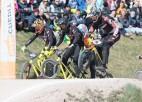 """Ar spraigām cīņām  Ventspilī sākusies """"SMScredit.lv BMX čempionāta"""" sezona"""