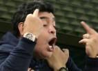 FIFA pārtrauks sadarbību ar Maradonu viņa nepiedienīgās uzvedības dēļ
