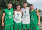 """Grīziņkalns Ghetto Family"" 3x3 basketbolisti iegūst 11. vietu Kauņas ""Challenger"""