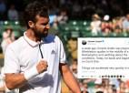"""Tenisa """"Twitter"""" čalas: Gulbis atkal liek tenisa pasaulei par sevi runāt"""