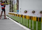 Latvijas biatlonistiem 20. vieta Jaunatnes olimpisko spēļu jauktajā stafetē