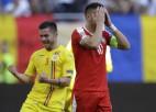 Serbija nerealizē pendeli, Rumānija mazākumā iztur spiedienu un nosargā punktu