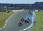 """Video: Zarko smagā """"MotoGP"""" avārija no dažādiem rakursiem"""