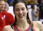 Maļuka Valmierā pārspēj Latvijas rekordu 200 metros brīvajā stilā