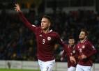 Tiešraide: Andora - Latvija 0:0 (spēle galā)