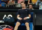 """Marejs no """"Australian Open"""" atvadās ar varenu cīņu piecu setu mačā"""