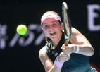 """Ostapenko pirmoreiz uzvar """"Australian Open"""" dubultspēlē"""