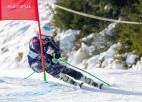 Ģērmane pēc 9. vietas pirmajā braucienā nefinišē Jaunatnes olimpisko spēļu slalomā
