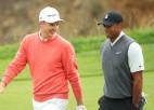 """Rouzs ar lielisku finišu kļūst par """"US Open"""" līderi"""