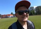 Video: Žigajevs iesilda un izvaicā Treimani un piedalās Latvijas futbola tiesnešu testos