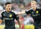 """""""Borussia"""" pēdējās 20 minūtēs tomēr nokārto uzvaru Ķelnē"""