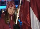 """Daiļslidotāja Lāce gūst 22. vietu ISU junioru """"Grand Prix"""" posmā"""