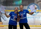 Dolotova/Kravčenoka un Samoilovs/Vilde iegūst Universiādes zeltu