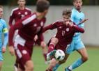 Vārtsargam lieliska spēle, U19 izlase jauno EČ ciklu sāk ar neizšķirtu pret Izraēlu