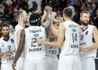 """Peinera """"Partizan"""" gūst pēdējos astoņus punktus, panākot 4-0 Eirokausā"""