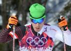 Austriešu distanču slēpotājs Dirrs saņem mūža diskvalifikāciju