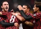 """""""Milan"""" uzvar līgas pastarīti, vienīgos vārtus gūstot no brīvsitiena"""