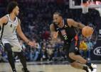 """Lenards pret """"Spurs"""" izceļas ar 38 punktiem, """"Pelicans"""" beidzot uzvar"""