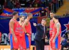 Strēlniekam seši punkti otrajā puslaikā, CSKA uzvar galvaspilsētu derbijā