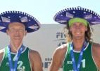 Samoilovs/Šmēdiņš atklās jauno sezonu ar 4* turnīru Meksikā