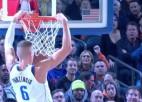 Video: NBA latviešu nedēļas topā triumfē Porziņģis
