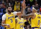 """Deiviss: """"Ilgā pauze padarījusi """"Lakers"""" izredzes izcīnīt NBA titulu labākas"""""""