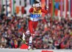 Eiduka uzvar Zviedrijā un pārspēj pasaules junioru čempionāta desmitnieka slēpotājas