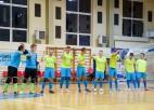 """""""Jēkabpils Lūši""""/""""Ošukalns"""" zaudē punktu, izveidojot trīsvadību telpu futbola Virslīgā"""
