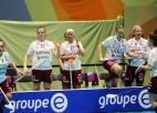 Čempionāta noslēgumā Latvijas izlasei spēle par septīto vietu
