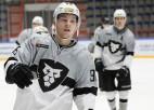 """""""Rīgas"""" hokejisti 17 spēļu izbraukumu turpina ar Amūras tīģeru <i>nomedīšanu</i>"""