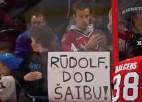 """Video: Balcers atsaucas uz aicinājumu """"Rūdolf, dod <i>šaibu</i>!"""""""
