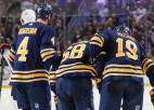 """""""Sabres"""" uz 5-6 nedēļām paliek bez NHL rezultatīvākā debitanta"""