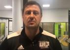 """Video: Veršakovs: """"Ar Lilienfeldu un Krištopānu spēle ir pavisam citāda"""""""