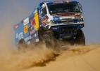 "Video: ""Kamaz"" <i>monstri</i> dominē Dakaras rallija 10. posmā"