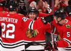 """Keinam 1000. punkts NHL karjerā, """"Blackhawks"""" izcīna piekto uzvaru pēc kārtas"""
