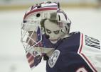 Video: Kivlenieks NHL debitē ar 2:1 uzvaru Ņujorkā