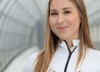 Skeletoniste Zunte izcīna ceturto vietu Eiropas junioru čempionātā