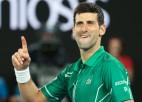 """""""Australian Open"""" finālos nezaudējušais Džokovičs izaicinās Tīmu"""