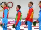 Arī biatlonistam Ustjugovam atņemts Soču olimpisko spēļu zelts