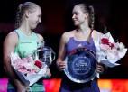 Bertensai atkārtots triumfs Sanktpēterburgā dod 10. WTA titulu