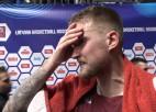 """Video: Šķēle: """"Žēl, baigi smagais zaudējums, bija svarīgi uzvarēt šo spēli, bet..."""""""