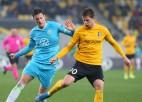 "Dubras ""Oleksandriya"" Ukrainas kausa 1/4 finālā 120 minūtes nomoka titulēto ""Dynamo"""