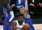 """Porziņģim 34+12 un izšķirošie punkti papildlaikā uzvarā pār """"Pelicans"""""""